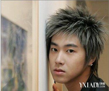 【图】明星时尚个性发型设计 男明星刺猬头发型图片图片